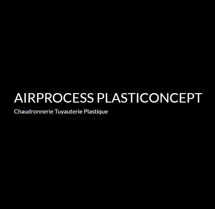 Airprocess Plasticoncept – Canalisations